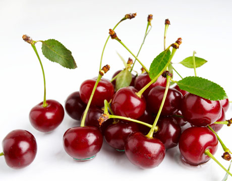 Fresh cherries are good for you!